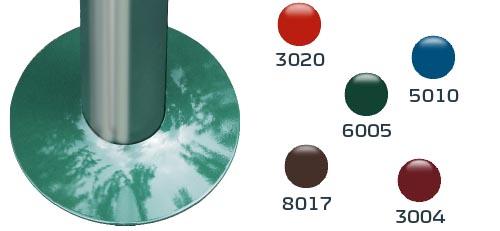 Eine Zierblende, in verschiedenen Farben möglich