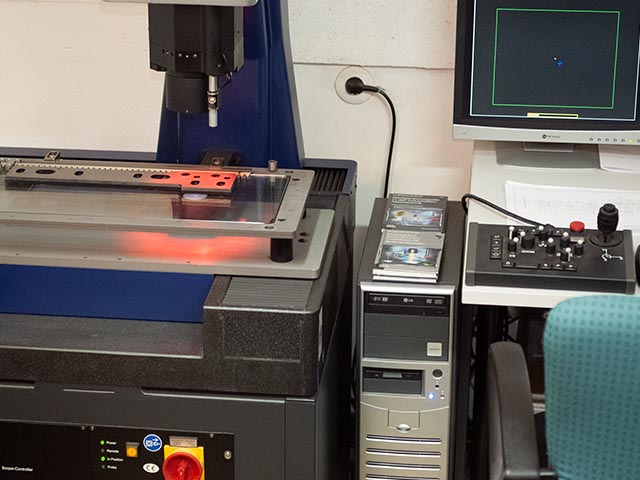 Werth Multisensor 3D Messmaschine